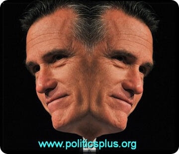 two faced romney