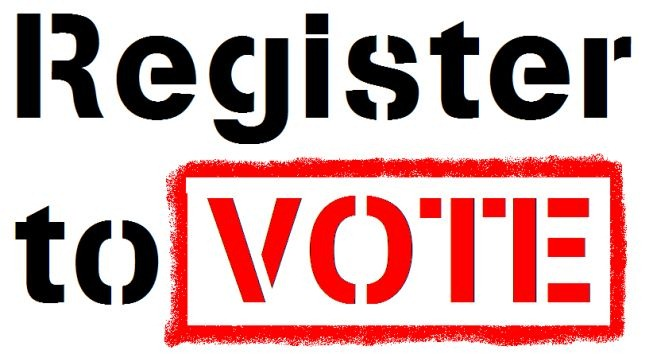 Image result for register vote here picture