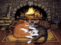 Cat_Tails_Fireplace_2